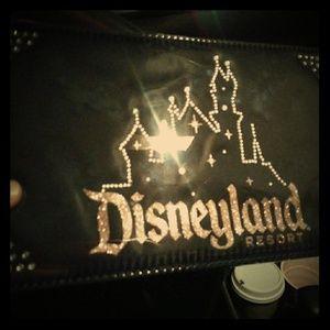 Disneyland clutch bag medium sized